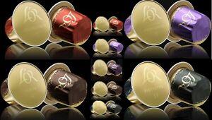 LOR Nespresso Espresso Coffee, 5 Flavour Variety, 50 Aluminium Pods (LOOSE)