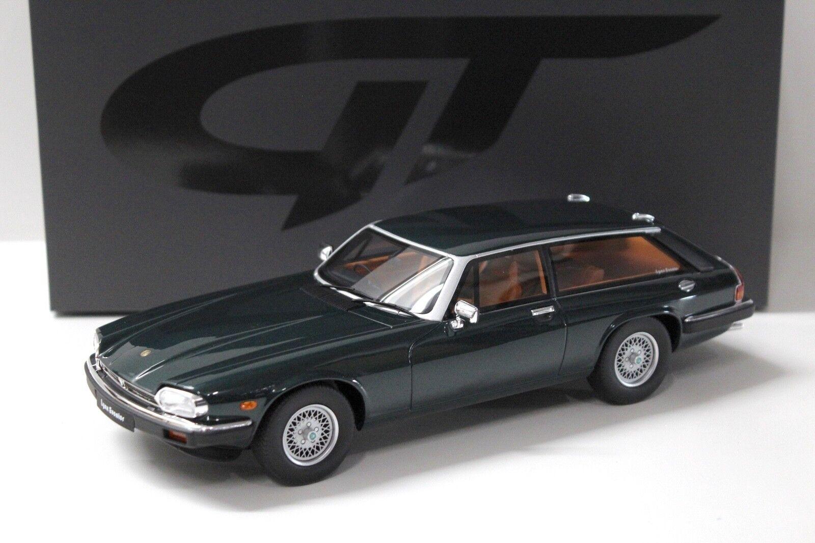 18 gt geist jaguar xjs luchs eventer dunkelgrüne neue bei premium-modelcars