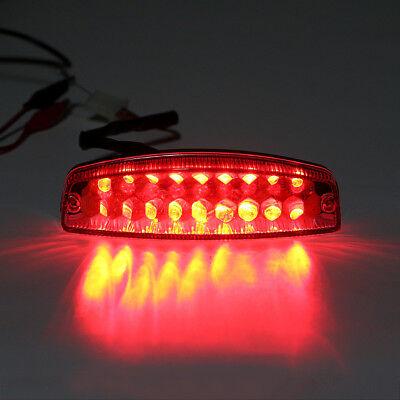 Universal 30 LED E4 Motorcycle ATV Bike Driving Brake Stop Tail Light Rear L/_UK