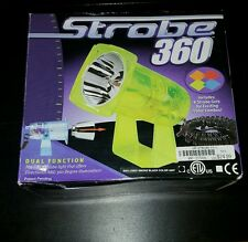 360 STROBE LIGHT DJ  SPECIAL EFFECTS SYSTEM EQUIPMENT MOVIN & GROVIN!!!