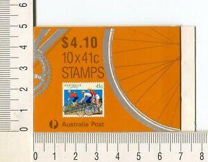 41189) Australia 1989 MNH QEII Cycling 41c (x10) Scott# 1109Bc 3 Koalas Margin
