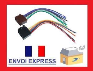 2-Fiches-connecteurs-ISO-faisceau-cables-standard-pour-autoradio-C1986