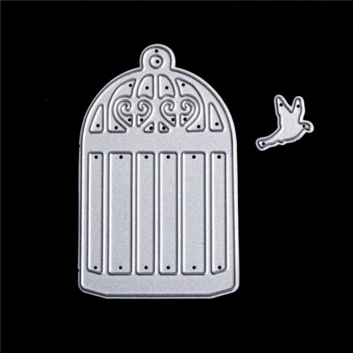 Bird Net Set Metal Die Cutting Dies Scrapbooking Embossing Folder Paper Cards R