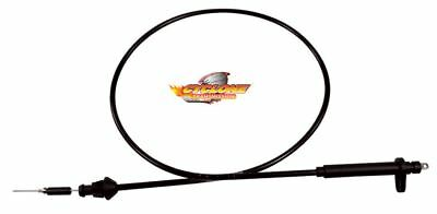 Tickas Kickdown Cable TH-350 Stainless Braided Kick Down Cable Transmission Detent Cable for Chevy Trans TH350