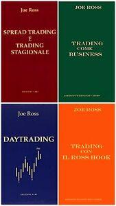 4-libri-Joe-Ross-Daytrading-Spread-trading-hook-business-forex-bitcoin-azioni