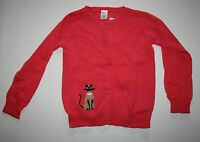 Gymboree Outlet Pink Fancy Kitty Cardigan Sweater Size 4 Year Button Front