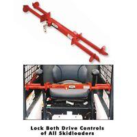Skidsteer Lock - Locks Two Drive Controls