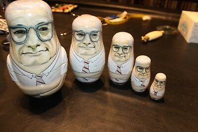 Ohio state STACKER DOLL WOODY HAYES NESTING DOLL figure figurine