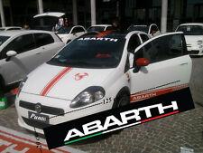 Adesivo Abarth adesivo professionale tuning Fiat Punto Bravo 500