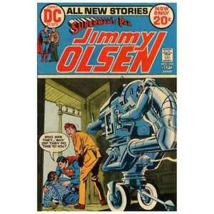 Superman's Pal Jimmy Olsen (1954 series) #152 in VF minus cond. DC comics [*0h]