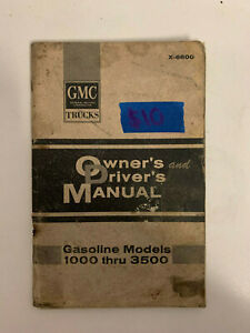 1965-gmc-1500-3500-Owners-Manual