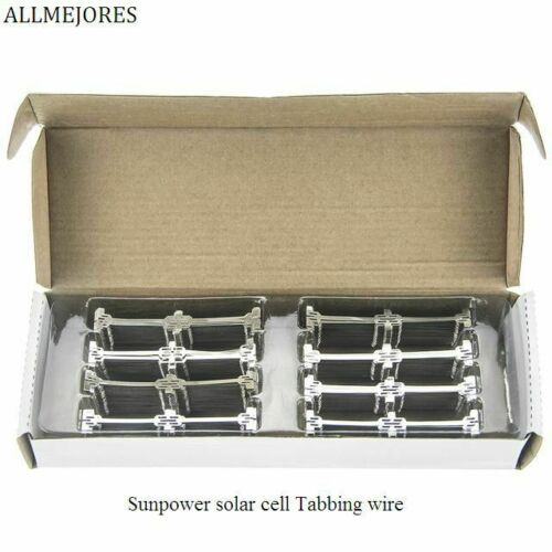 Sunpower Solar Cell Tabbing Wire Connector Dog Bone Tab Solder Strip DIY Panel