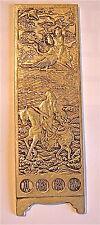sehr selten,und antik bildschirm Brief,CHINA,Sterling Silber ,gelocht mit rücken