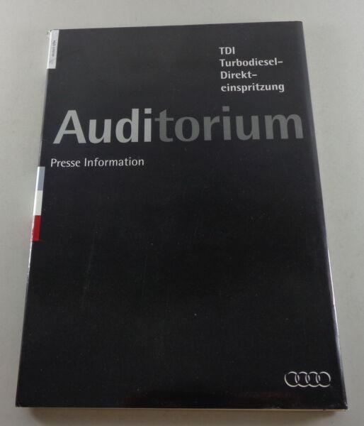 Cartella Stampa Audi Tdi Tecnica 1.9/2.5 Litri 80 B4/100 C4 Di 06/1994
