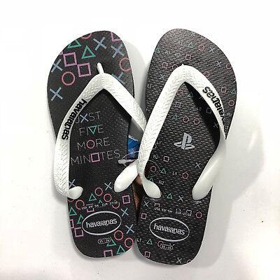 Ciabatte Infradito Havaianas Jr Bimbo - Playstation - Nero Bianco - Playstat623 Prezzo Moderato