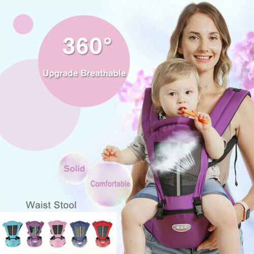Newborn Baby Carrier Kids Toddler Waist Hip Seat Wrap Soft Belt Backpack Sling