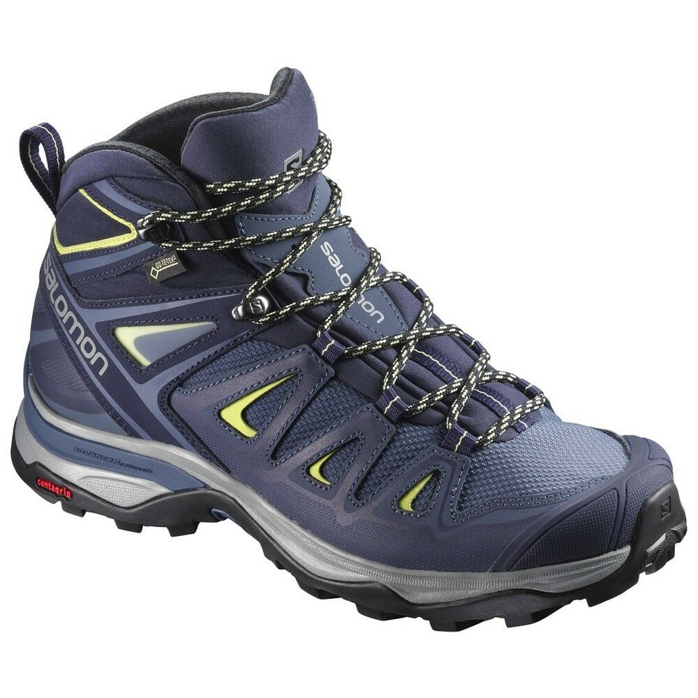 shoes Escursionismo Trekking Outdoor women SALOMON X ULTRA MID 3 GTX W Crown