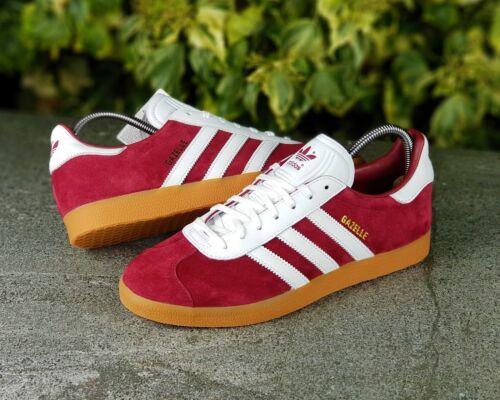 Uk Adidas Gazelle Originals Suede ® 10 Genuine athen taglia Bnwb Trainers 0wTxnOTq