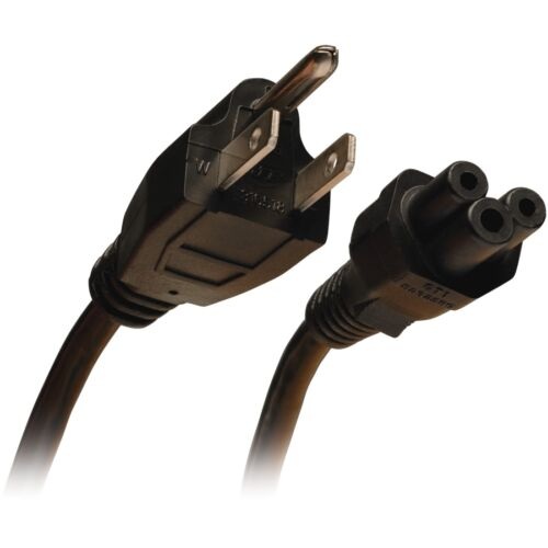 - 10 Ft 18awg Power Cord Nema 5-15p nema 5-15p To C5 Tripp Lite 10-ft