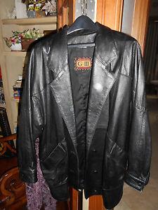 Stylish Long L Coat Walking Gorgeous Very Length 14 Leather 8xZwddvnU