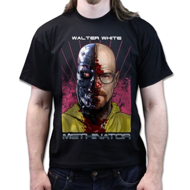 Breaking Bad Terminator Methinator Walter White Season 4 5 dvd T-shirt