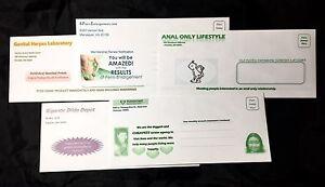 Lot Of 5 Adult Embarrassing Prank Envelopes Mail Prank Joke Gag Gifts Revenge