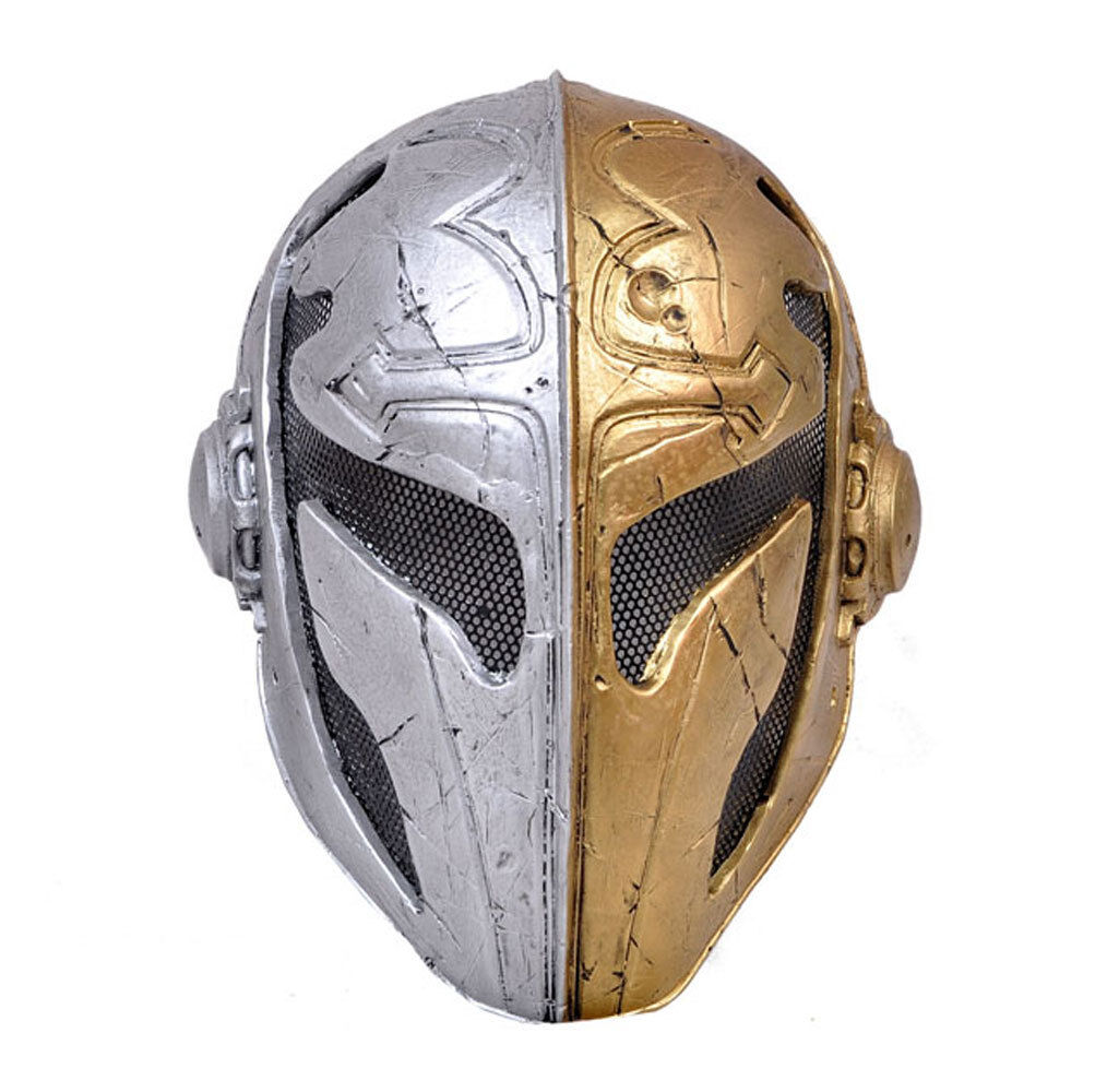 Fabric Plastic Wire Mesh Paintball CS Airsoft Full Face Predection Templar Mask