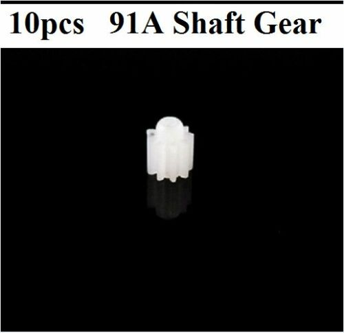 10pcs 91A X5C//X5A//X5 Plastic Motor Shaft Gear Set DIY Helicopter Robot Part K021