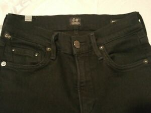 Citizens-of-Humanity-Black-Rocket-High-Rise-Skinny-Stretch-Jeans-Size-25