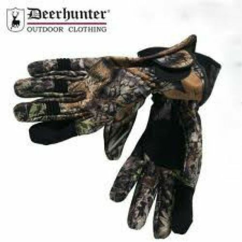 Deerhunter Game Stalker 2 Gloves Waterproof and Breathable Green /& Camouflage