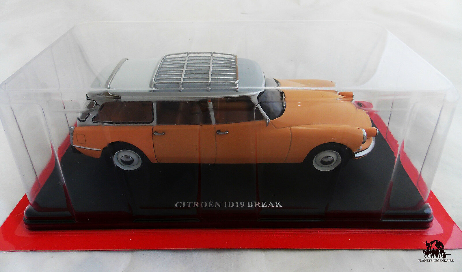 Miniature IXO Voiture CITROEN ID 19 Break 1958 Echelle 1 24e Diecast Metal