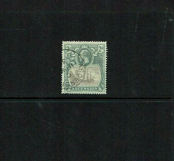 Ascension Island: 1924, 2d  grey-black and grey, good used, SG 13