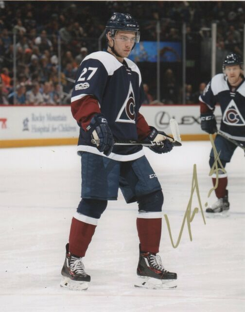 Colorado Avalanche Tyson Jost Signed Autographed 8x10 NHL Photo COA #1