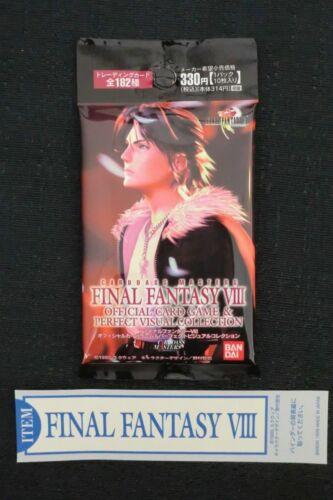 BANDAI FINAL FANTASY VIII 8 TRIPLE TRIAD BOOSTER PACK TCG CARDASS MASTERS NEW