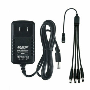 AC Adapter For Lemax Lighted 94564 44241 64517 74269 74274 Christmas Village Spo