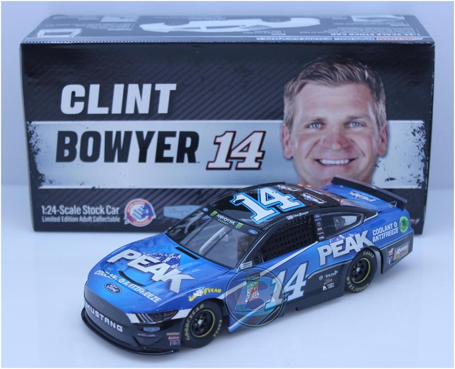 NASCAR 2019 CLINT BOWYER # 14 PEAK ANTIFREEZE 1/24 CAR