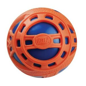 NEW-BRITZ-039-N-PIECES-E-Z-GRIP-BALL-JR-ORANGE-BLUE-BMA859-OUTDOOR-TOYS-BALLS