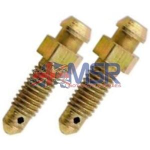 Brake-Caliper-Bleed-Screw-Nipple-M6-x-1-00mm-2-PACK