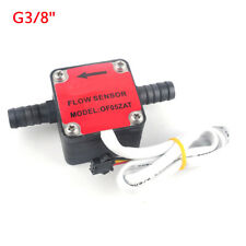G38 Liquid Fuel Oil Flow Sensor Counter Diesel Gasoline Milk Gear Flow Meter