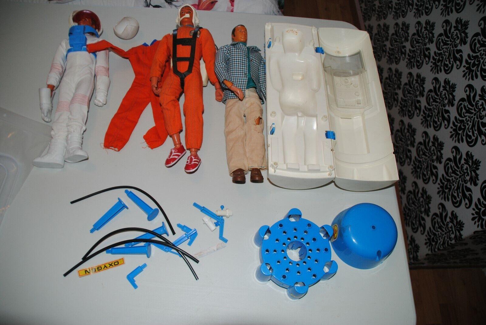 ventas en linea The Six Million Dollar Man  Estación de Reparación Reparación Reparación + Figuras  buen conjunto  compra limitada