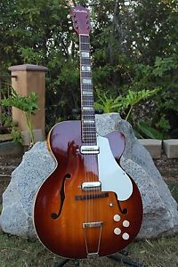 Vintage Silvertone 1425 Aristocrat Archtop Guitar Speed Bump Kay ...
