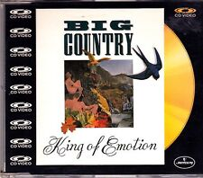 Big Country -King Of Motion cd video maxi single