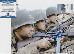 Ed-Burns-Saving-Private-Ryan-Signed-Autograph-8x10-Photo-Beckett-BAS-COA-2