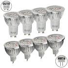 4/10x High Power GU10/MR16 6W=50w LED Bulbs Spotlight Warm Day White Light Lamp