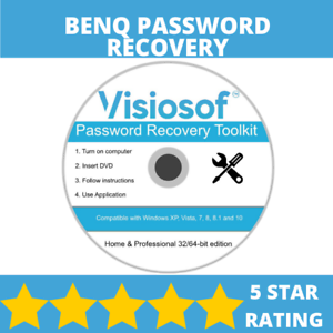 Details about BENQ Password Reset Disk Recovery Password Removal Windows XP  VISTA 7 8 10