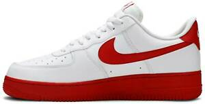 Details about Air Force 1 Low White Red Sole CK7663-102 Mens Sneakers Size  10-13