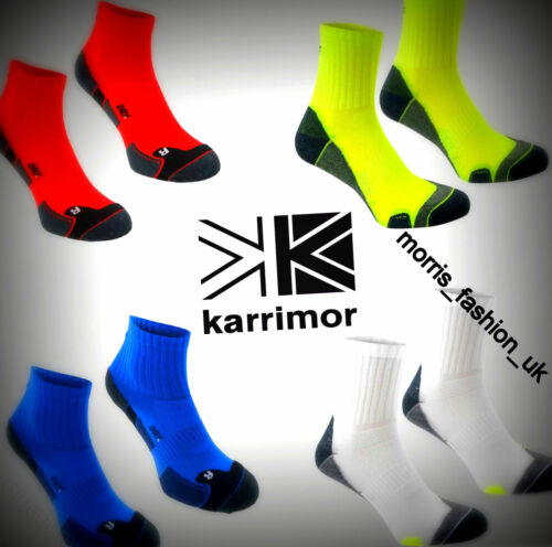 2 Pack Mens Karrimor Sports Breathable Dri Skin Running Socks Size 712+