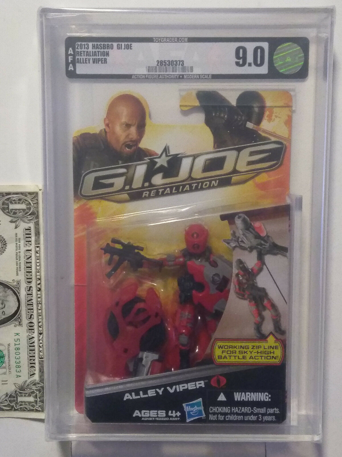 AFA 9.0 G.I. Joe Retaliation Alley Viper 2013 made by Hasbro in 2013 28530373