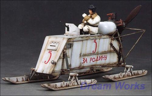 Award Winner Built Trumpeter 1//35 Armored Aerosan NKL-26 PE Figure