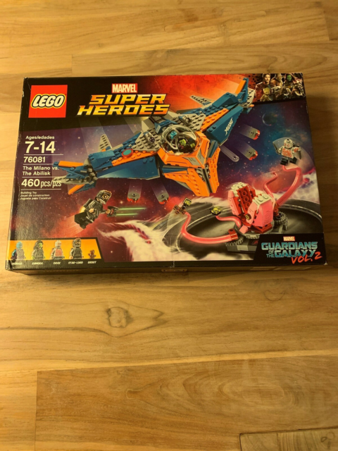 Lego Super heroes, 76081, I ubrudt emballage